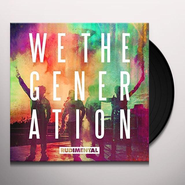 Rudimental WE THE GENERATION Vinyl Record - Spain Import