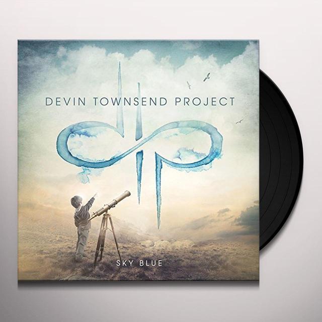 Devin Townsend SKY BLUE Vinyl Record - w/CD, Holland Import