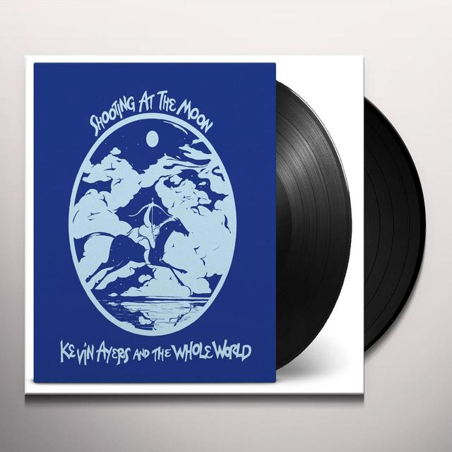 Kevin Ayers & The Whole World SHOOTING AT THE MOON Vinyl Record - Holland Import