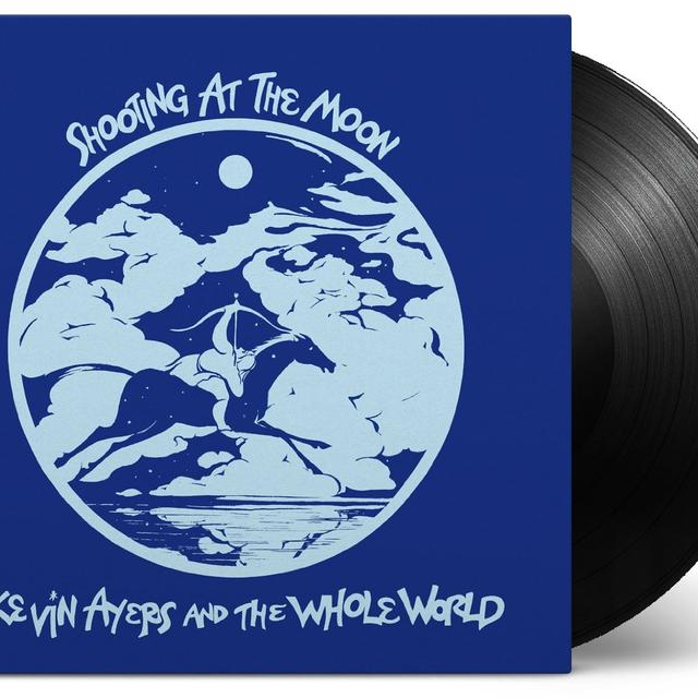 Kevin Ayers & The Whole World SHOOTING AT THE MOON Vinyl Record