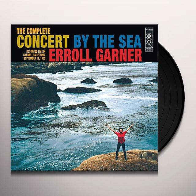 Erroll Garner COMPLETE CONCERT BY SEA Vinyl Record - UK Import