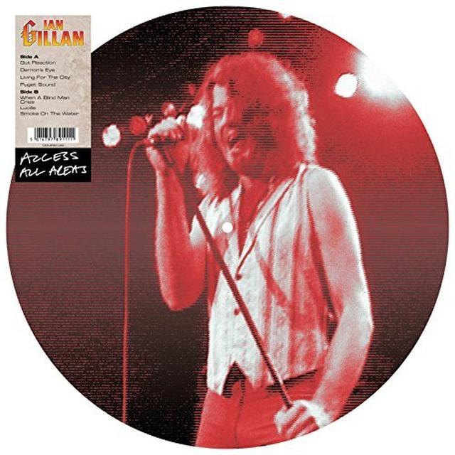 Ian Gillan ACCESS ALL AREAS Vinyl Record