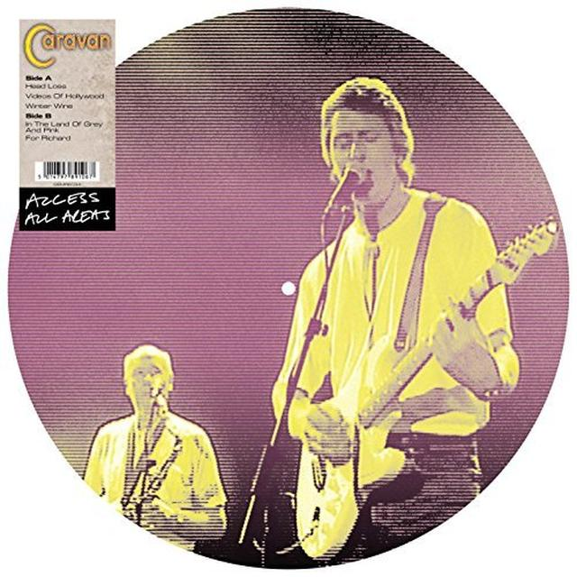 Caravan ACCESS ALL AREAS Vinyl Record