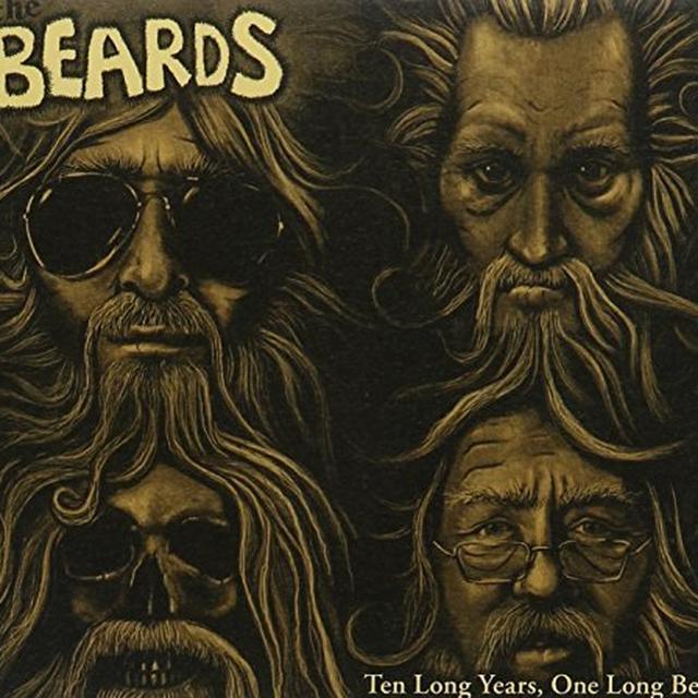 BEARDS: 10 LONG YEARS 1 LONG BEARD Vinyl Record - Australia Import