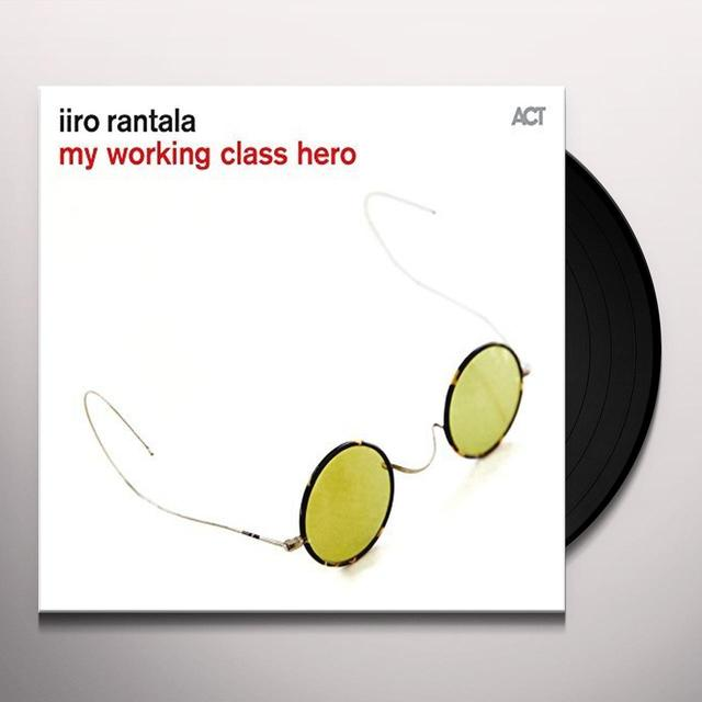 Iiro Rantala MY WORKING CLASS HERO Vinyl Record