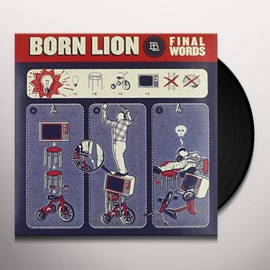 BORN LION FINAL WORDS Vinyl Record