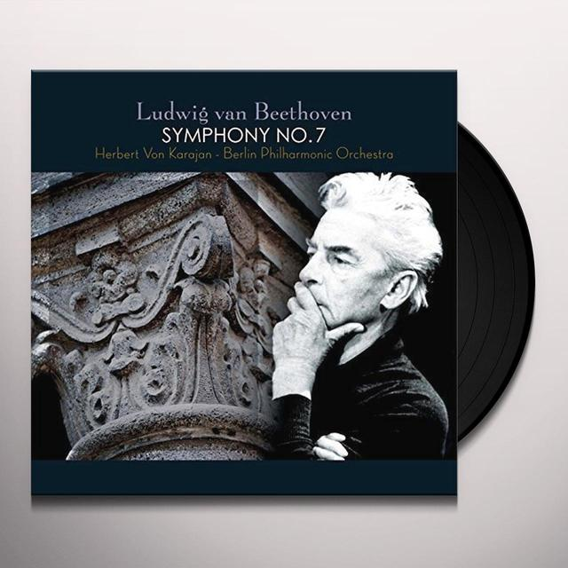 Beethoven Ludwig van SYMPHONY NO. 7 Vinyl Record - 180 Gram Pressing, Holland Import