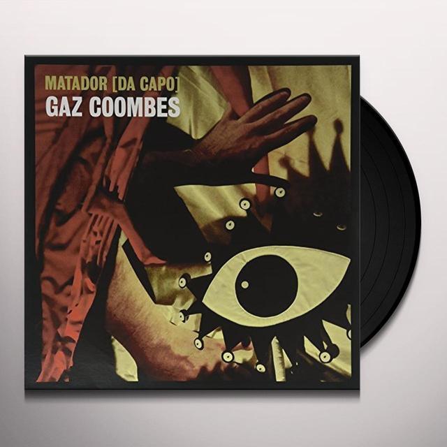 Gaz Coombes MATADOR (DA CAPO) Vinyl Record - UK Import