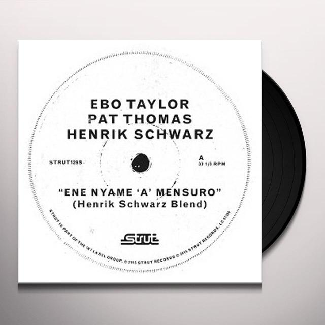 Ebo Taylor / Pat Thomas / Henrik Schwarz ENE NYAME (HENRIK SCHWARZ MIXES) Vinyl Record - UK Import