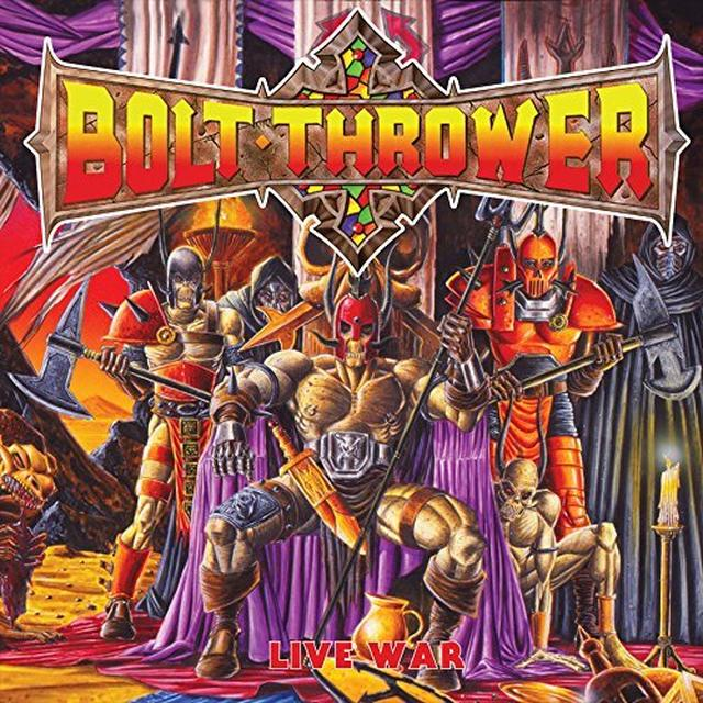 Bolt Thrower LIVE WAR Vinyl Record - UK Release