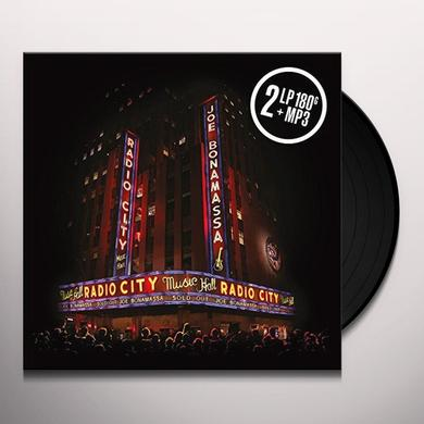 Joe Bonamassa LIVE AT RADIO CITY MUSIC HALL Vinyl Record - UK Import