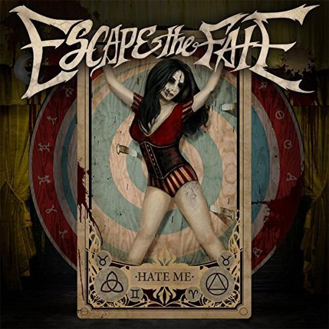 Escape The Fate HATE ME Vinyl Record - UK Import