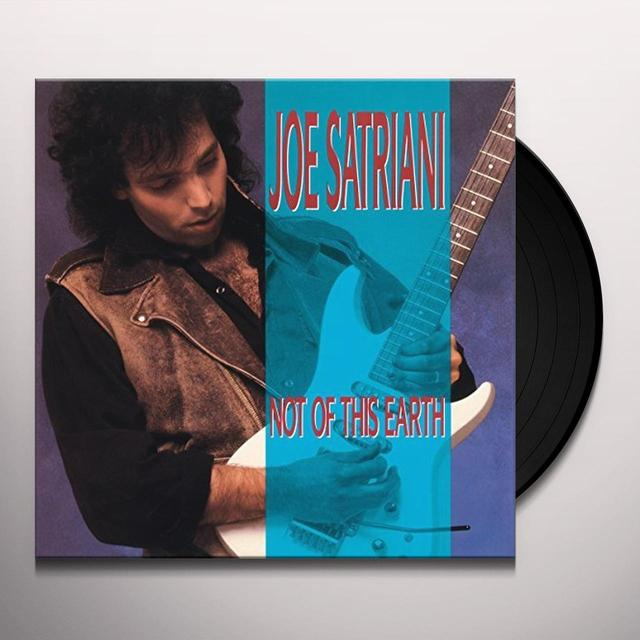 Joe Satriani NOT OF THIS EARTH Vinyl Record