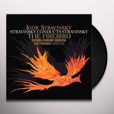 Igor Stravinsky STRAVINSKY CONDUCTS STRAVINSKY: FIREBIRD Vinyl Record - 180 Gram Pressing