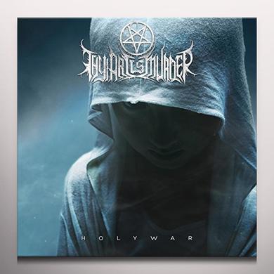 Thy Art Is Murder HOLY WAR Vinyl Record - Blue Vinyl, Colored Vinyl, UK Import