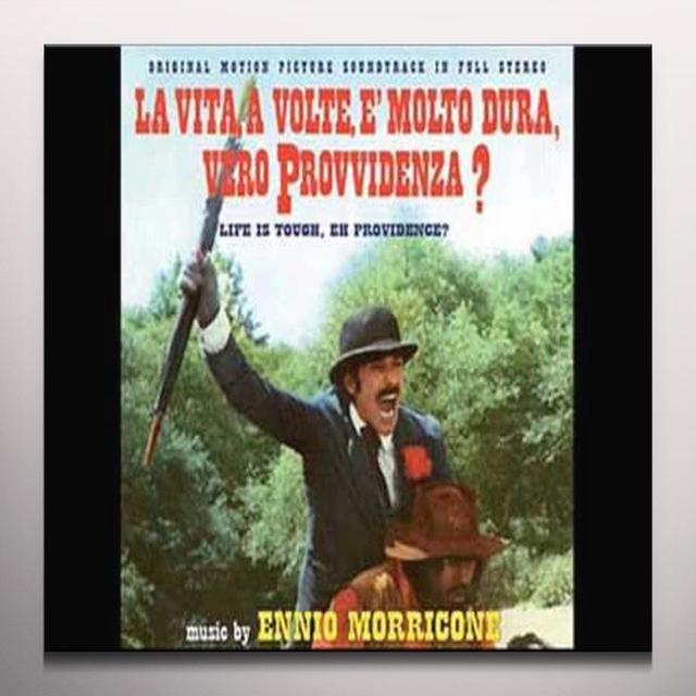 LA VITA A VOLTE E' MOLTO DURA VERO / O.S.T. (COLV) LA VITA A VOLTE E' MOLTO DURA VERO / O.S.T. Vinyl Record - Colored Vinyl