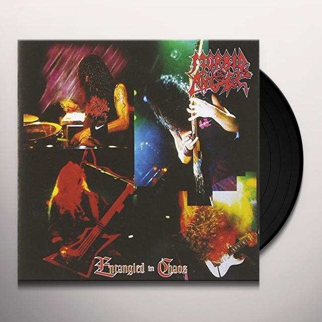 Morbid Angel ENTANGLED IN CHAOS Vinyl Record