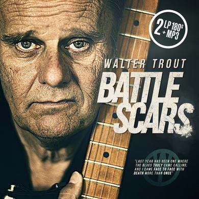 Walter Trout BATTLE SCARS Vinyl Record - UK Release