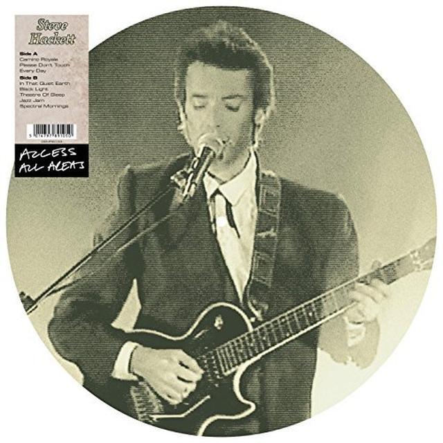 Steve Hackett ACCESS ALL AREAS Vinyl Record
