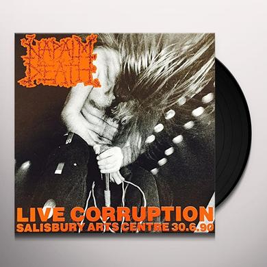 Napalm Death LIVE CORRUPTION Vinyl Record