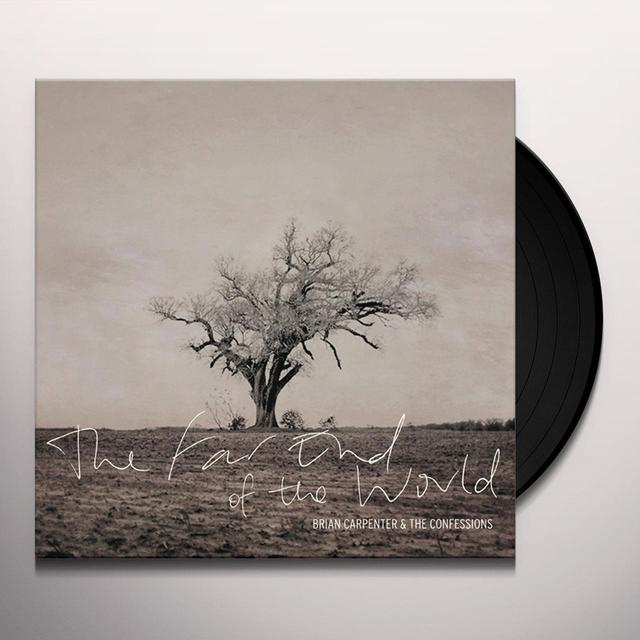 Brian Carpenter and the Confessions FAR END OF THE WORLD Vinyl Record