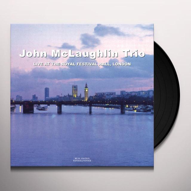 John Mclaughlin LIVE AT THE ROYAL FESTIVAL HALL Vinyl Record - Gatefold Sleeve