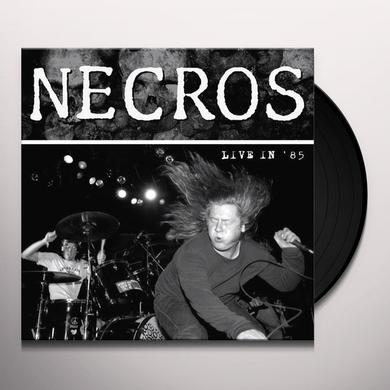 Necros LIVE IN '85 Vinyl Record - Limited Edition