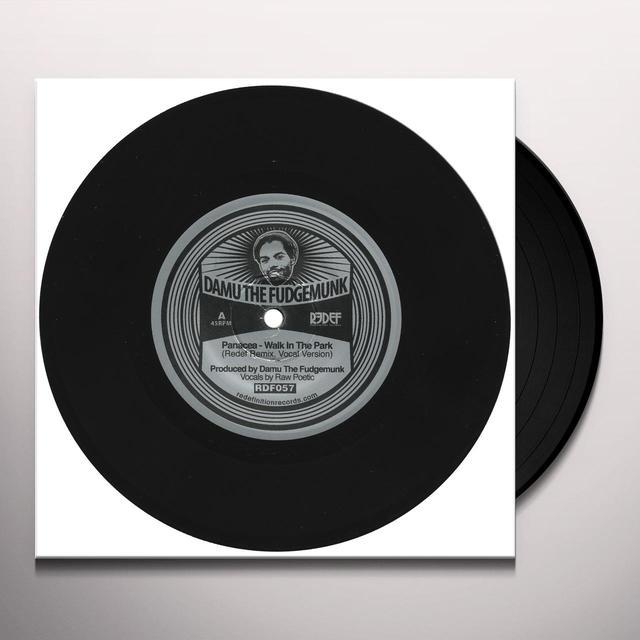 Damu The Fudgemunk WALK IN THE PARK REMIX FEAT. RAW POETIC / INSTRUM Vinyl Record
