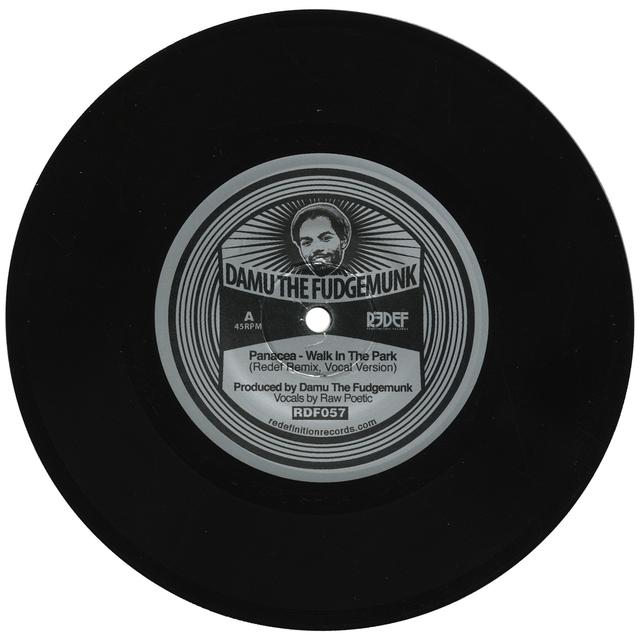 Damu The Fudgemunk WALK IN THE PARK REMIX FEAT. RAW POETIC / INSTRUM Vinyl Record