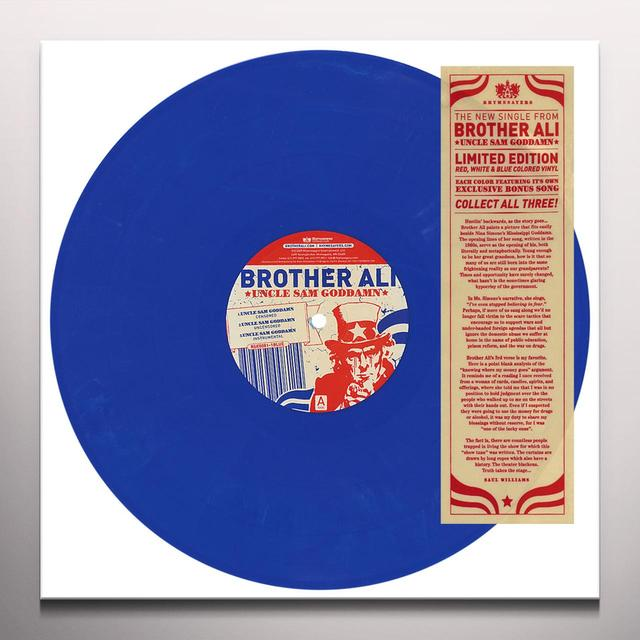 Brother Ali UNCLE SAM Vinyl Record - Colored Vinyl