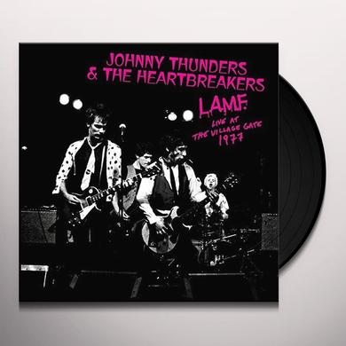 Johnny Thunders & The Heartbreakers L.A.M.F. - LIVE AT THE VILLAGE GATE 1977 Vinyl Record