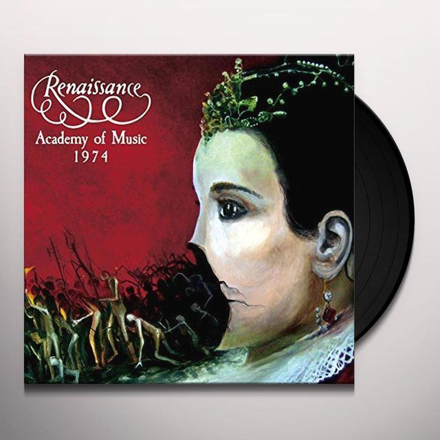 RENAISSANCE ACADEMY OF MUSIC 1974 Vinyl Record