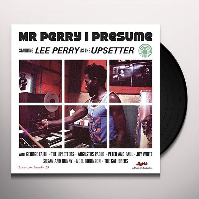 Lee Perry & Various Artists MR PERRY I PRESUME Vinyl Record