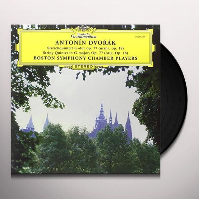Antonin Dvorak (Public Domain) STRING QUINTET IN G MAJOR Vinyl Record