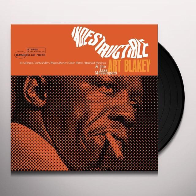 Art Blakey & The Jazz Messengers INDESTRUCTIBLE Vinyl Record