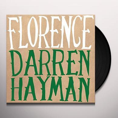 Darren Hayman FLORENCE Vinyl Record