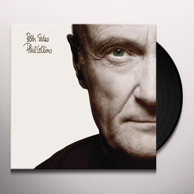 Phil Collins BOTH SIDES Vinyl Record - 180 Gram Pressing