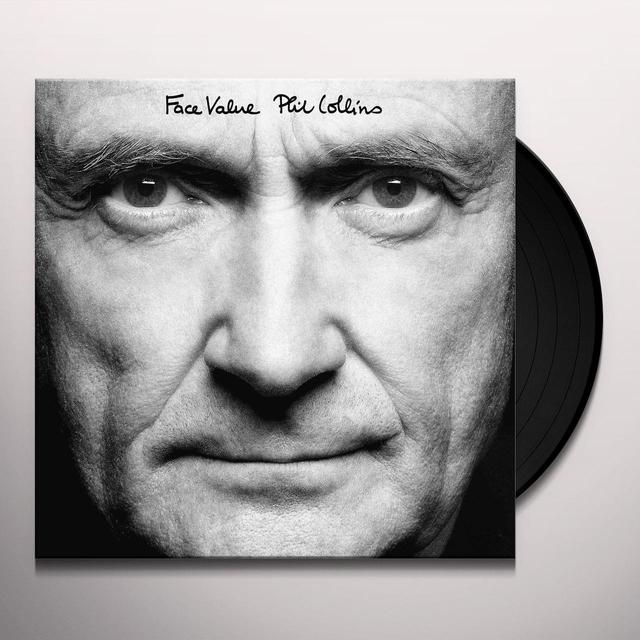 Phil Collins FACE VALUE Vinyl Record - 180 Gram Pressing