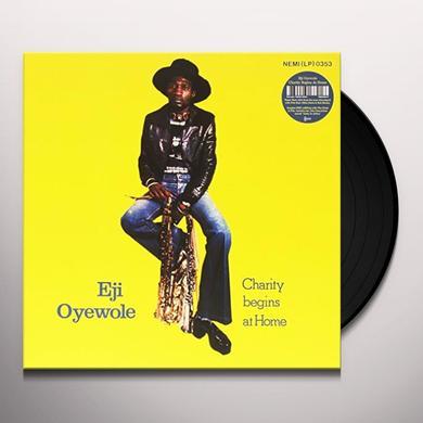 EJI OYEWOLE CHARITY BEGINS AT HOME Vinyl Record - Gatefold Sleeve