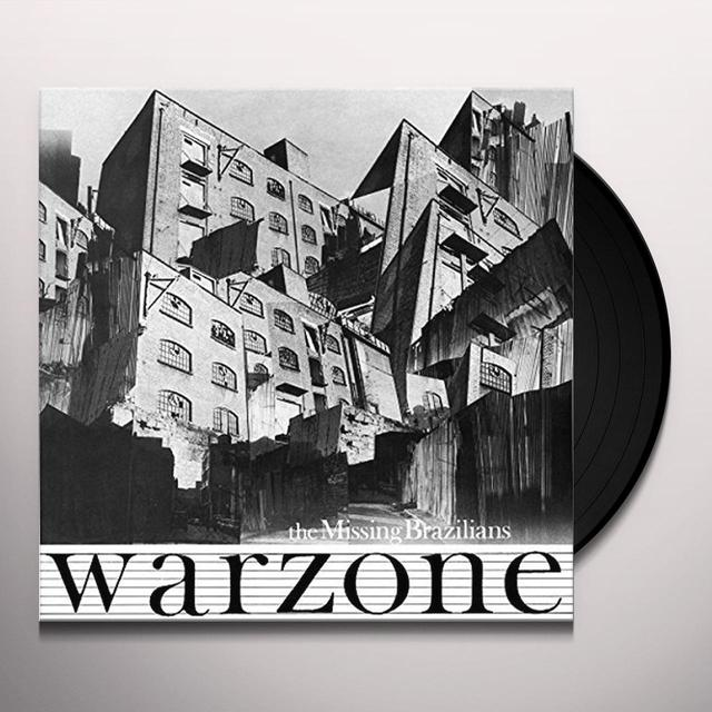 Missing Brazilians WARZONE Vinyl Record - Poster, Digital Download Included