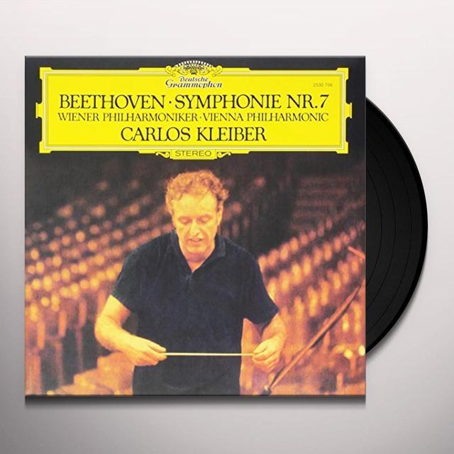 BEETHOVEN / KLEIBER / WIENER PHILHARMONIKER BEETHOVEN: SYMPHONY NO 7 Vinyl Record - 180 Gram Pressing