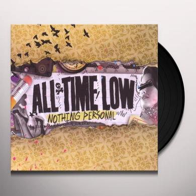 All Time Low NOTHING PERSONAL Vinyl Record