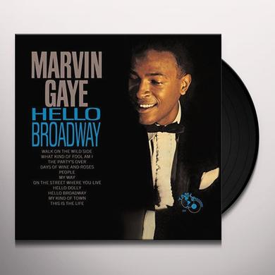 Marvin Gaye HELLO BROADWAY Vinyl Record