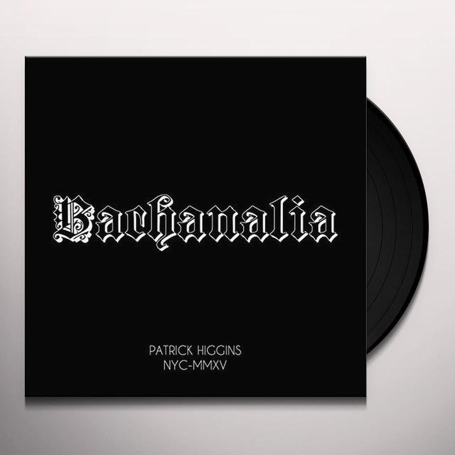 Patrick Higgins BACHANALIA Vinyl Record