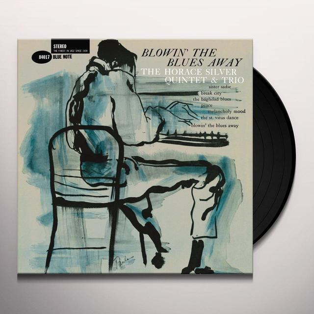 Horace Silver Quintet and Trio BLOWIN THE BLUES AWAY Vinyl Record