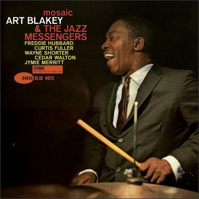 Art Blakey & The Jazz Messengers MOSIAC Vinyl Record - Gatefold Sleeve, Limited Edition, 180 Gram Pressing, Remastered