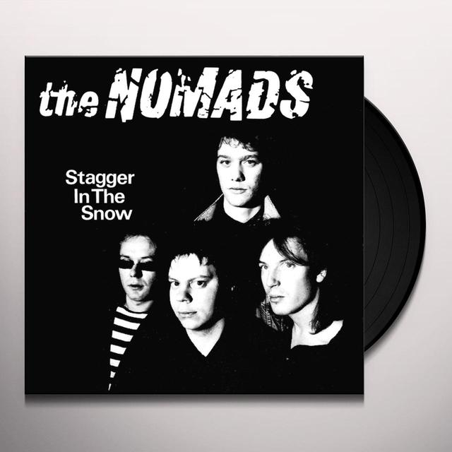 Nomads STAGGER IN THE SNOW Vinyl Record - Gatefold Sleeve