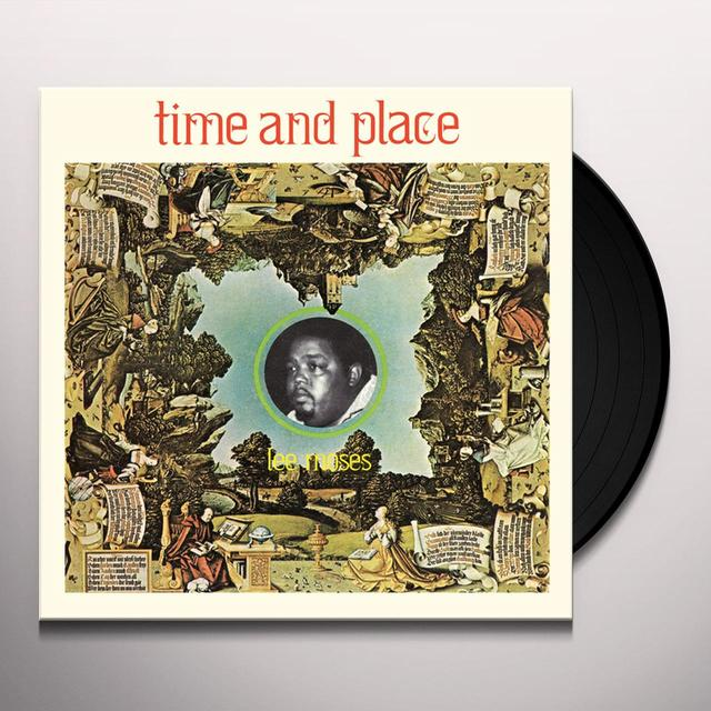 Lee Moses TIME & PLACE Vinyl Record
