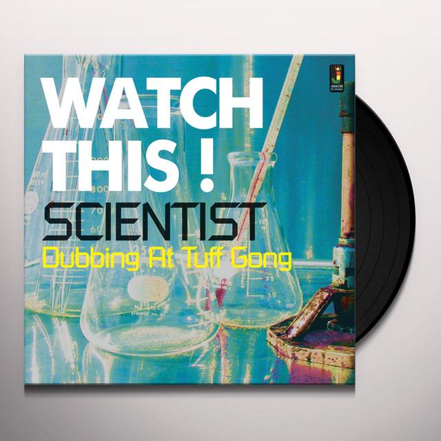 Scientist WATCH THIS DUBBING AT TUFF GONG Vinyl Record