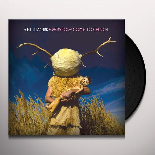 Evil Blizzard EVERYBODY COME TO CHURCH Vinyl Record - Limited Edition